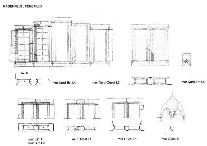 Etude architecturale du kagenfels for Embrasure de fenetre